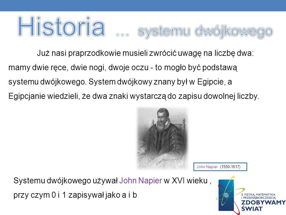 Historia … systemu dwójkowego