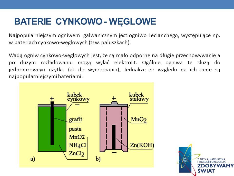 Baterie cynkowo - węglowe