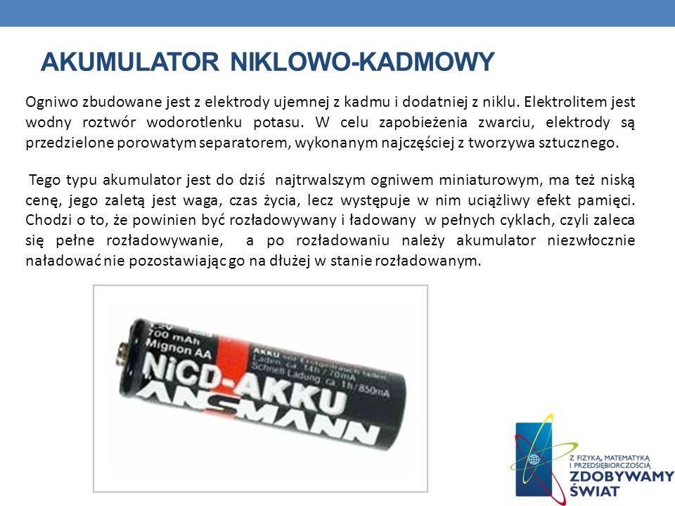 Akumulator niklowo-kadmowy
