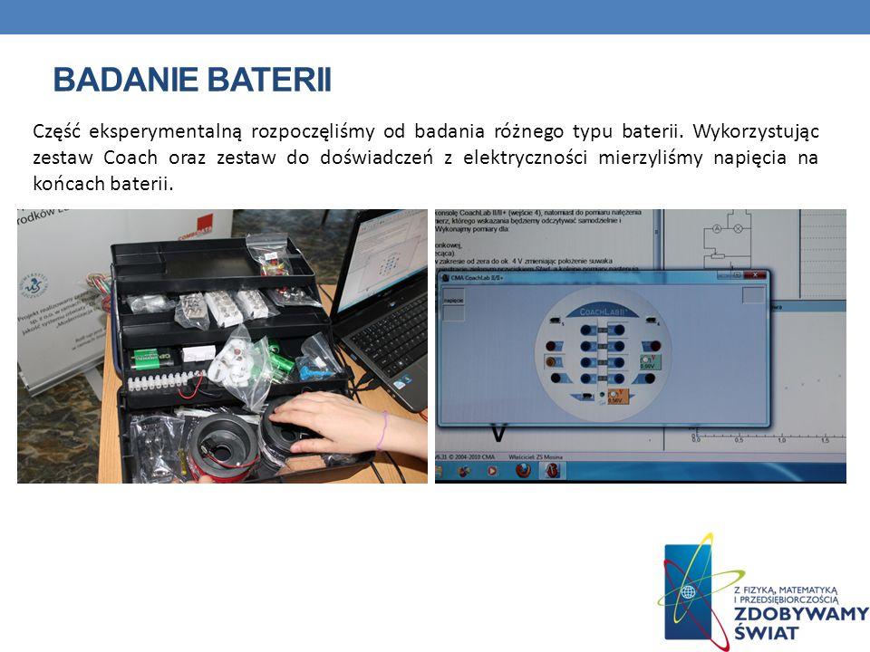 Badanie baterii