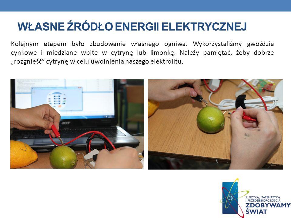 Własne źródło energii elektrycznej