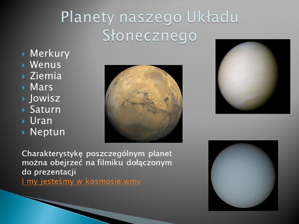 Planety naszego Układu Słonecznego