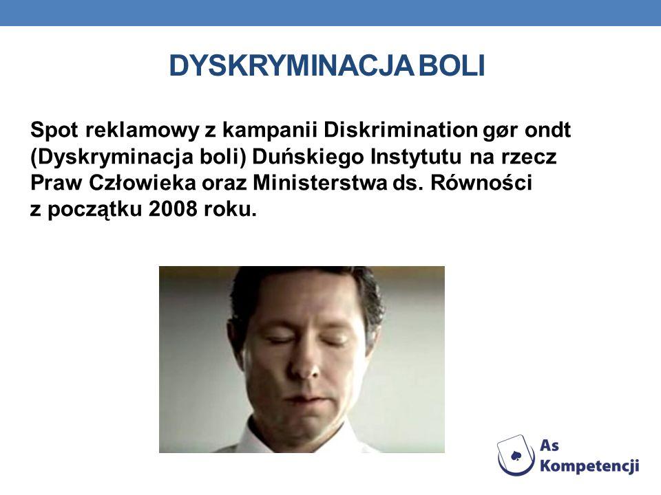 Dyskryminacja boli