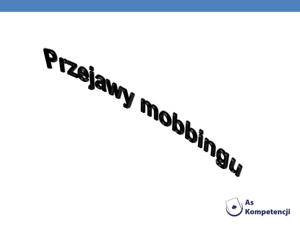 Przejawy mobbingu
