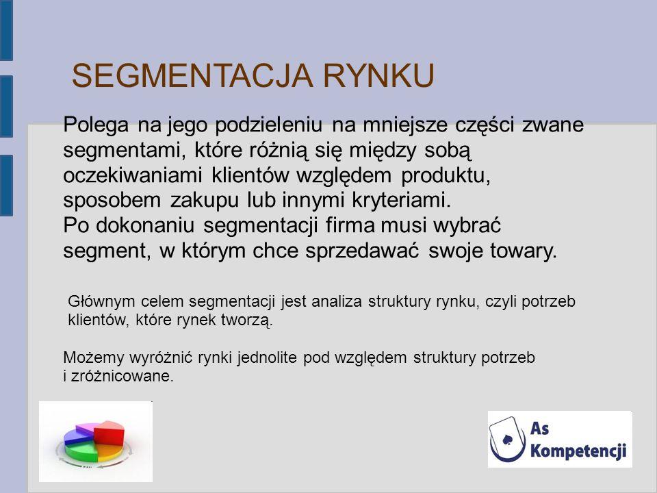 12121212 SEGMENTACJA RYNKU.