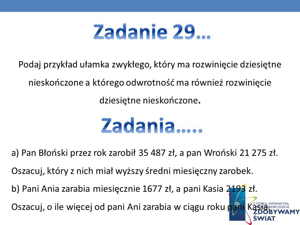 Zadanie 29…