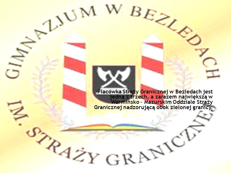 Placówka Straży Granicznej w Bezledach jest jedną z trzech, a zarazem największą w Warmińsko – Mazurskim Oddziale Straży Granicznej nadzorującą obok zielonej granicy.