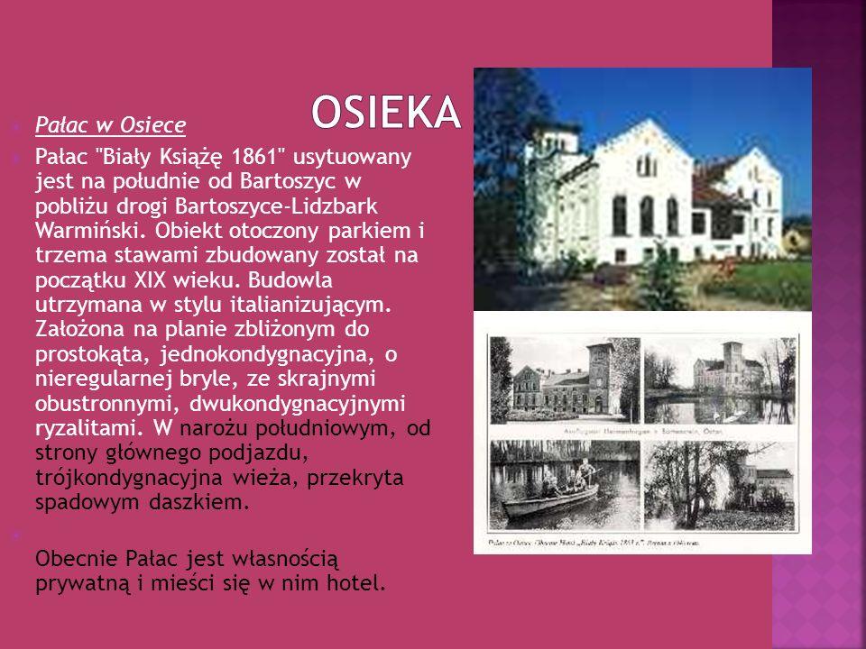 Osieka Pałac w Osiece.