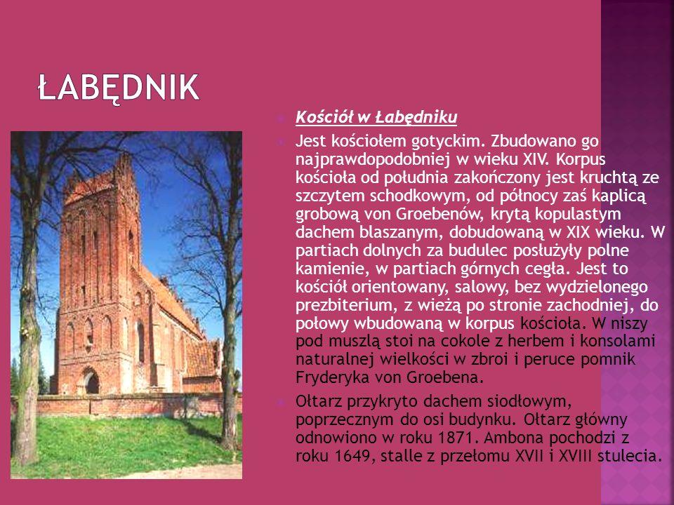 Łabędnik Kościół w Łabędniku
