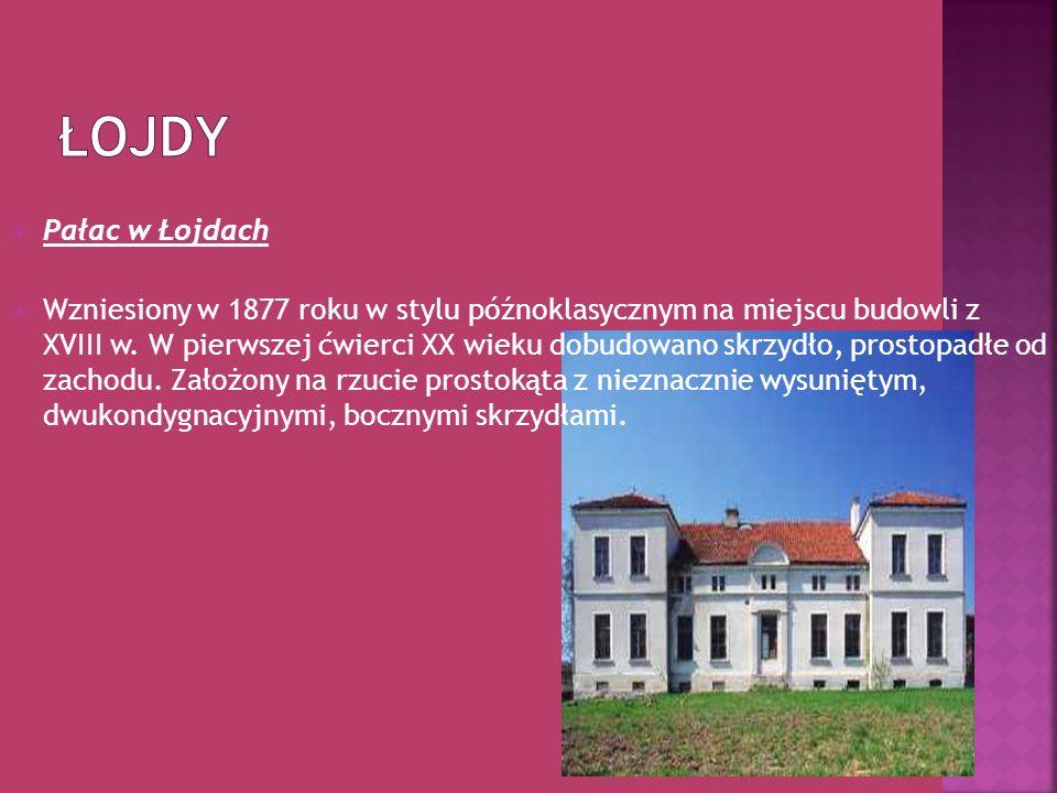 Łojdy Pałac w Łojdach.