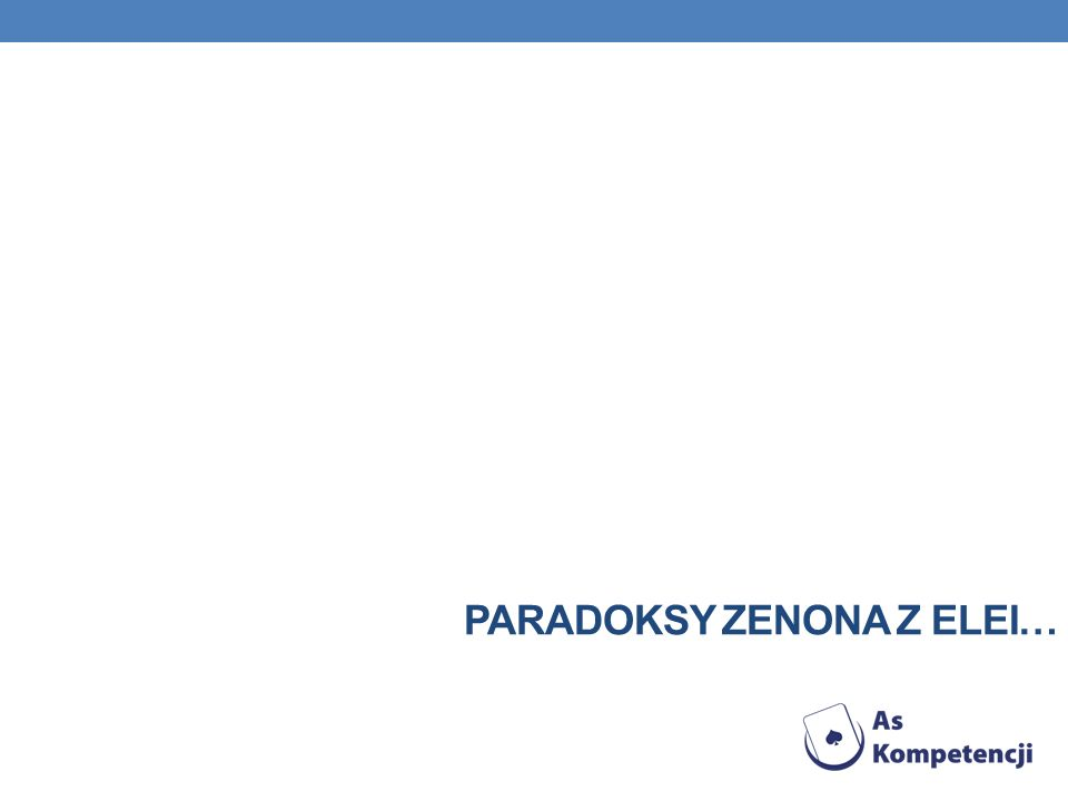 Paradoksy zenona z elei…