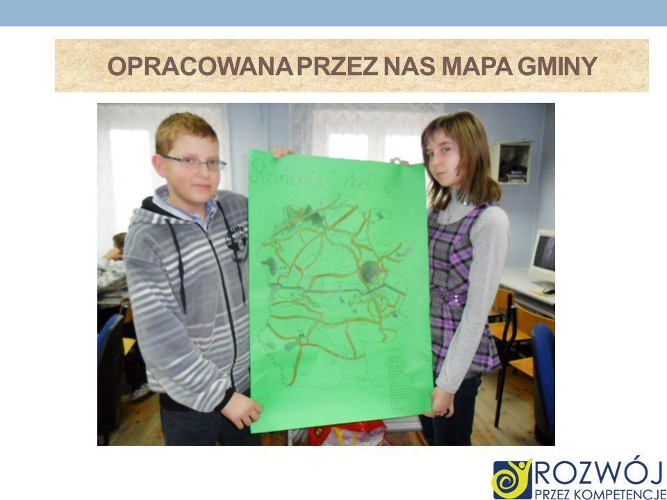 Opracowana przez nas Mapa gminy