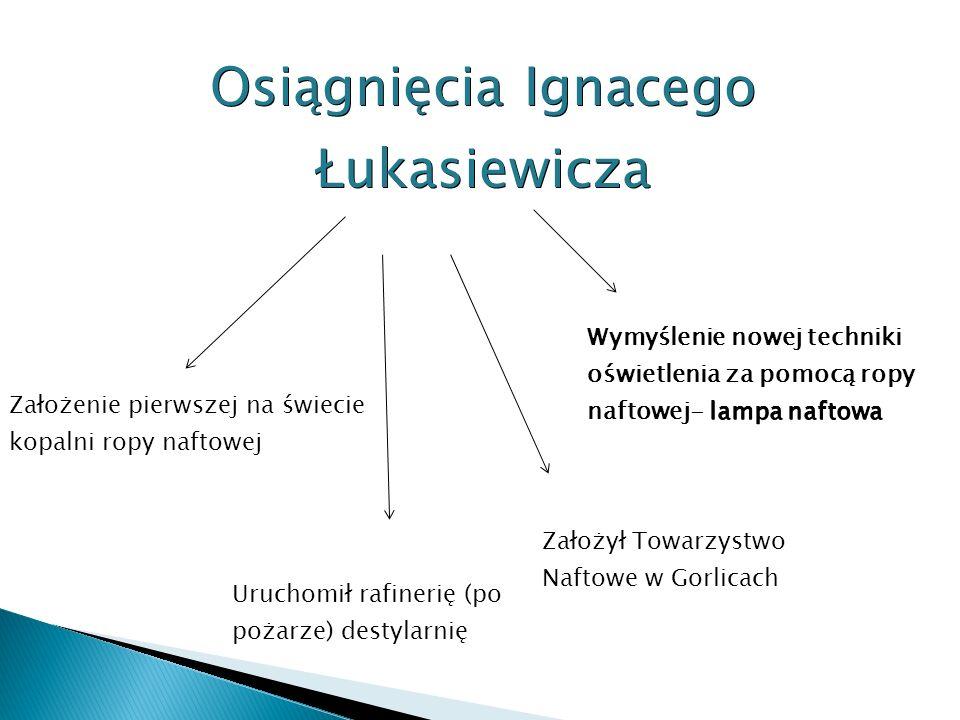 Osiągnięcia Ignacego Łukasiewicza