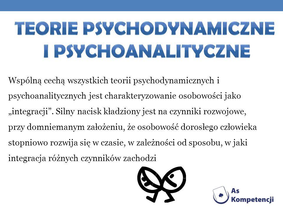 Teorie psychodynamiczne