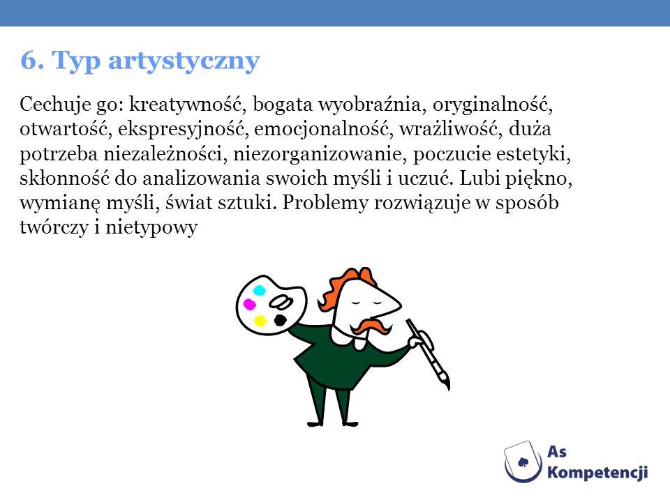 6. Typ artystyczny