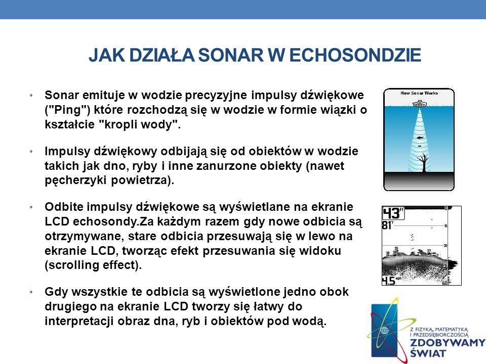 Jak działa sonar w echosondzie