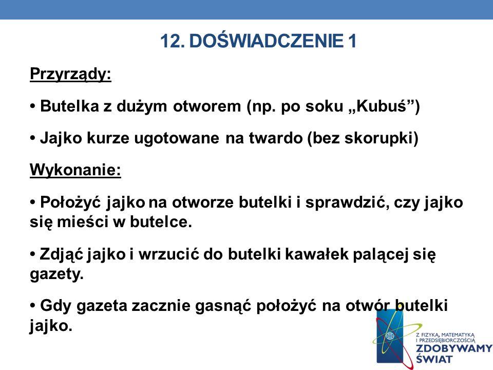 12. Doświadczenie 1