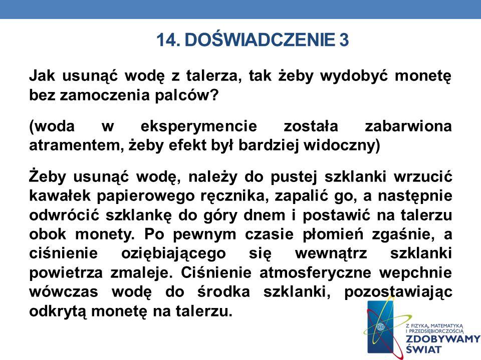 14. Doświadczenie 3