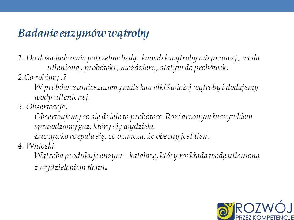 Badanie enzymów wątroby