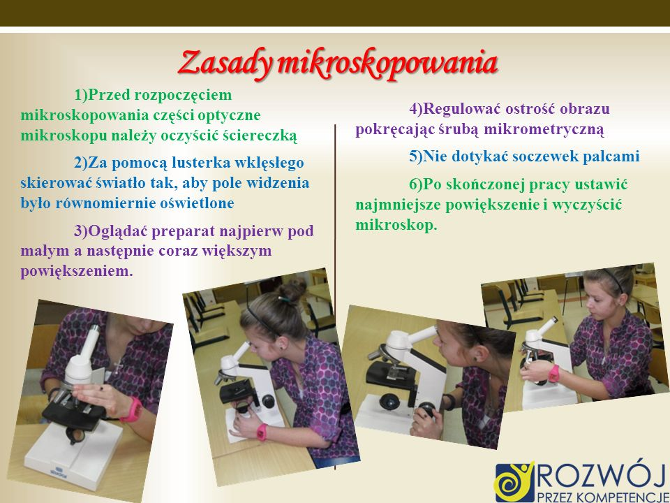Zasady mikroskopowania