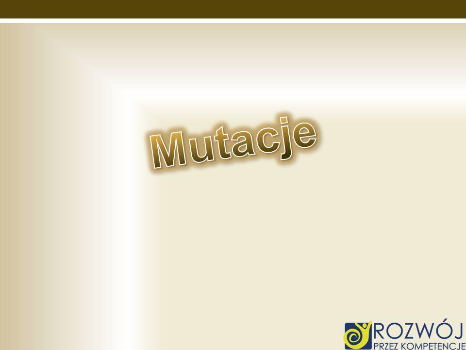 Mutacje