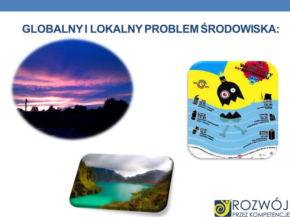 Globalny i lokalny problem środowiska: