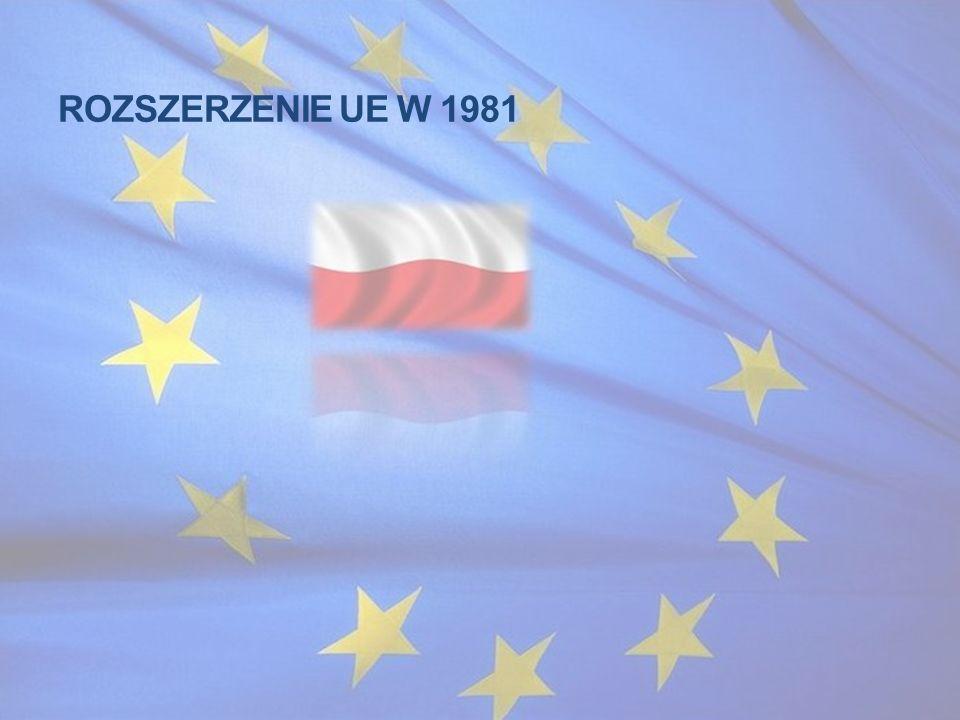ROZSZERZENIE UE W 1981