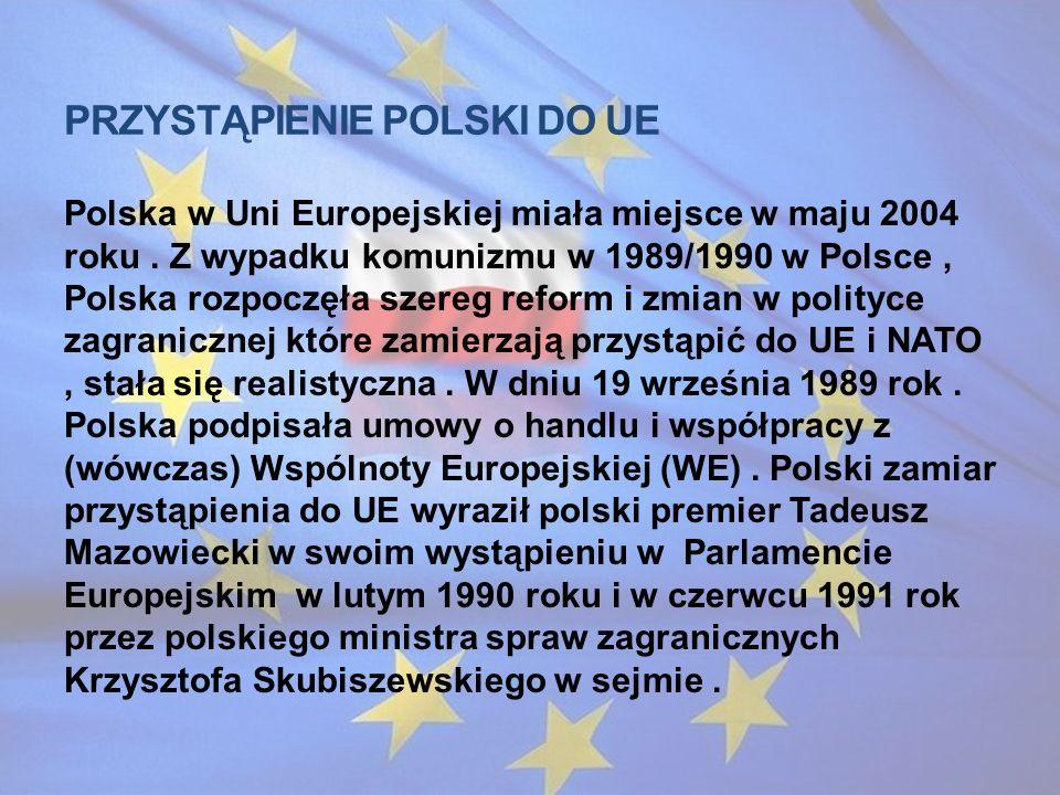 Przystąpienie Polski do UE