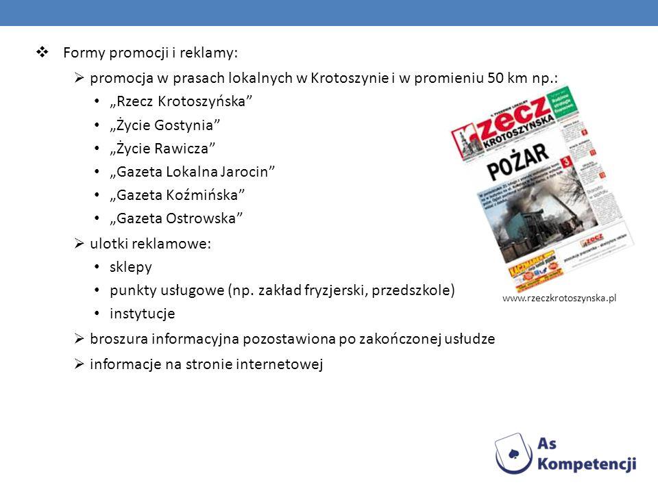 Formy promocji i reklamy: