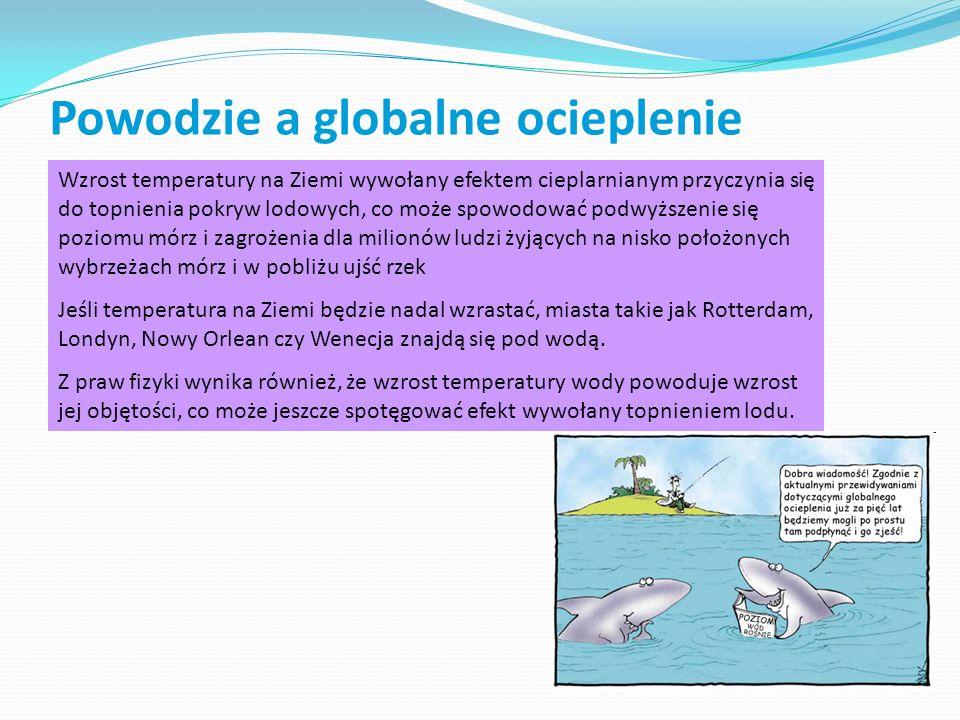 Powodzie a globalne ocieplenie
