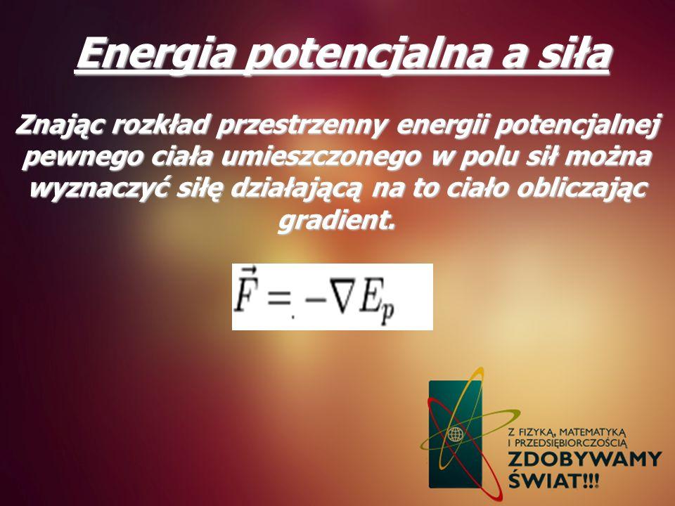 Energia potencjalna a siła