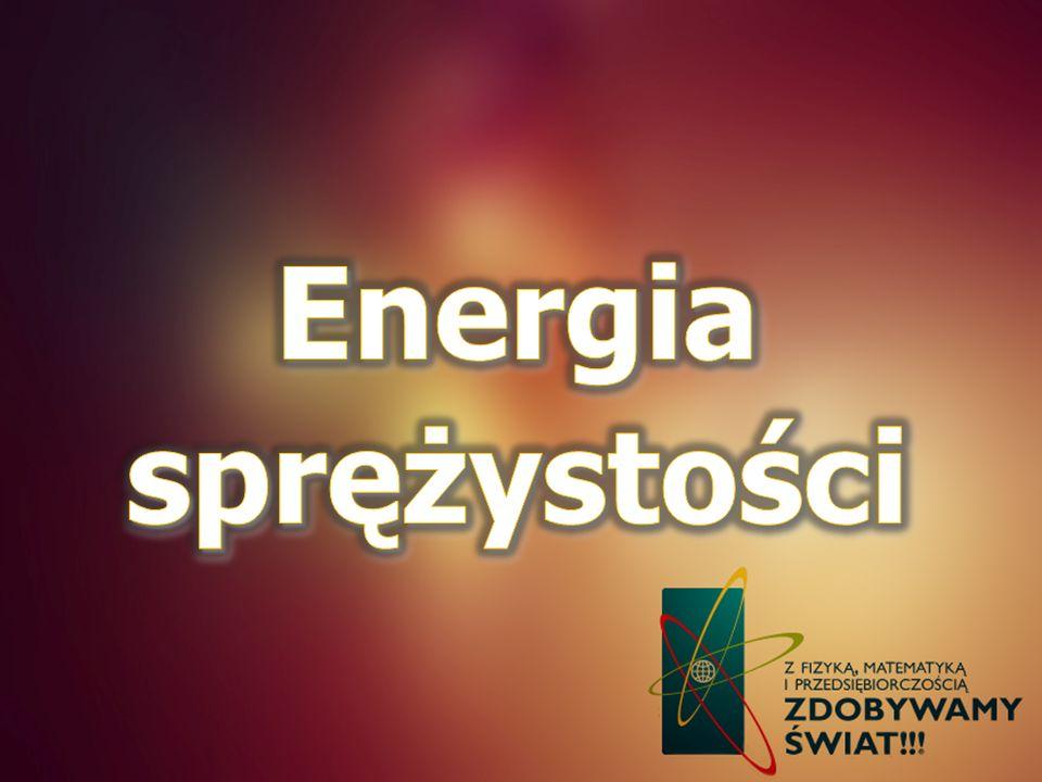 Energia sprężystości