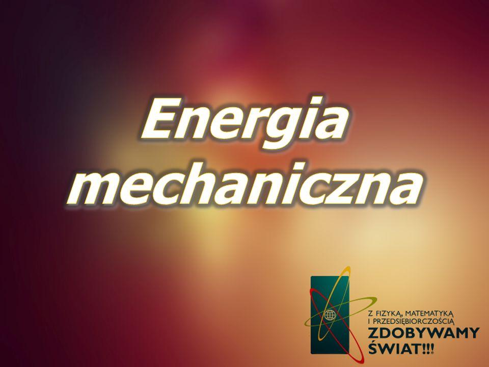 Energia mechaniczna
