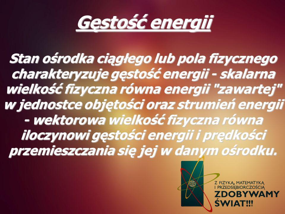 Gęstość energii