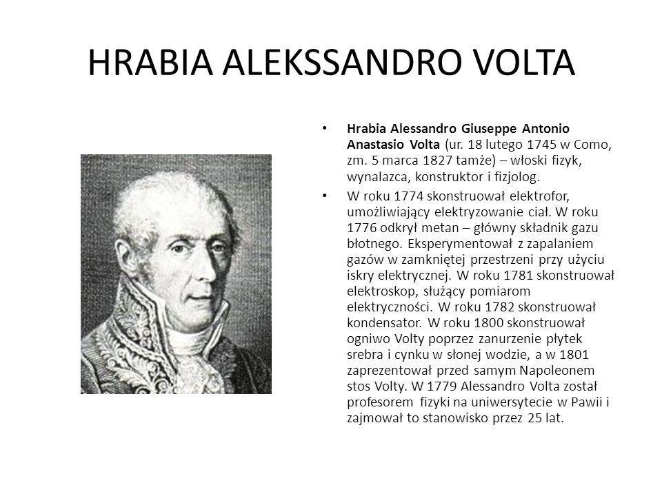 HRABIA ALEKSSANDRO VOLTA