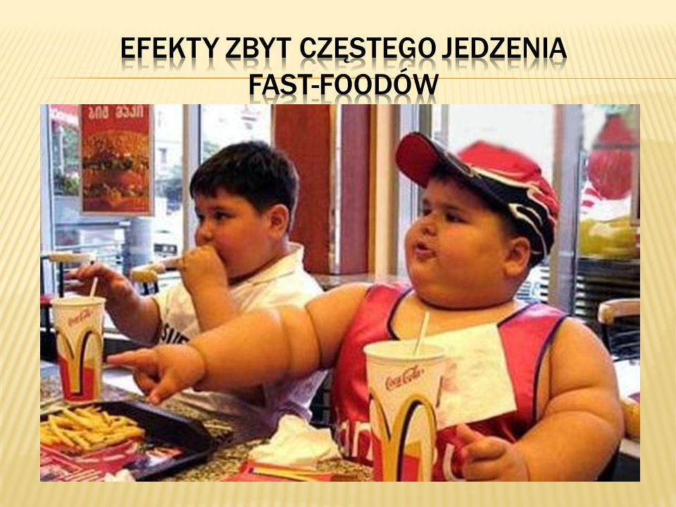 Efekty zbyt częstego jedzenia fast-foodów