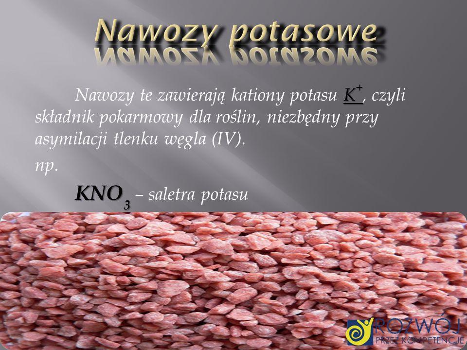 Nawozy potasowe