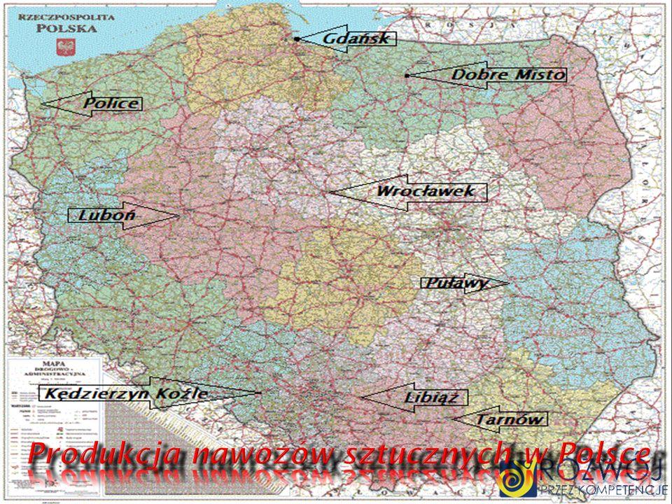 Produkcja nawozów sztucznych w Polsce