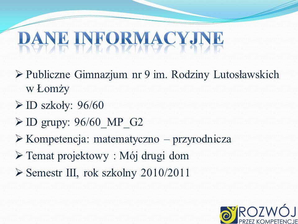 Publiczne Gimnazjum nr 9 im. Rodziny Lutosławskich w Łomży