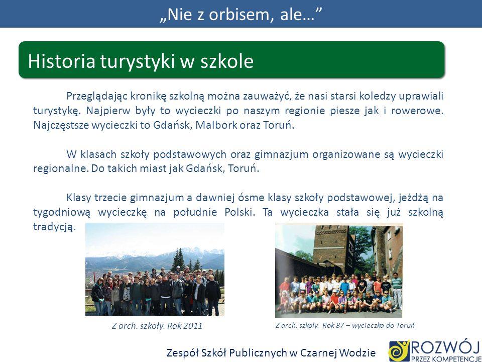 Z arch. szkoły. Rok 87 – wycieczka do Toruń