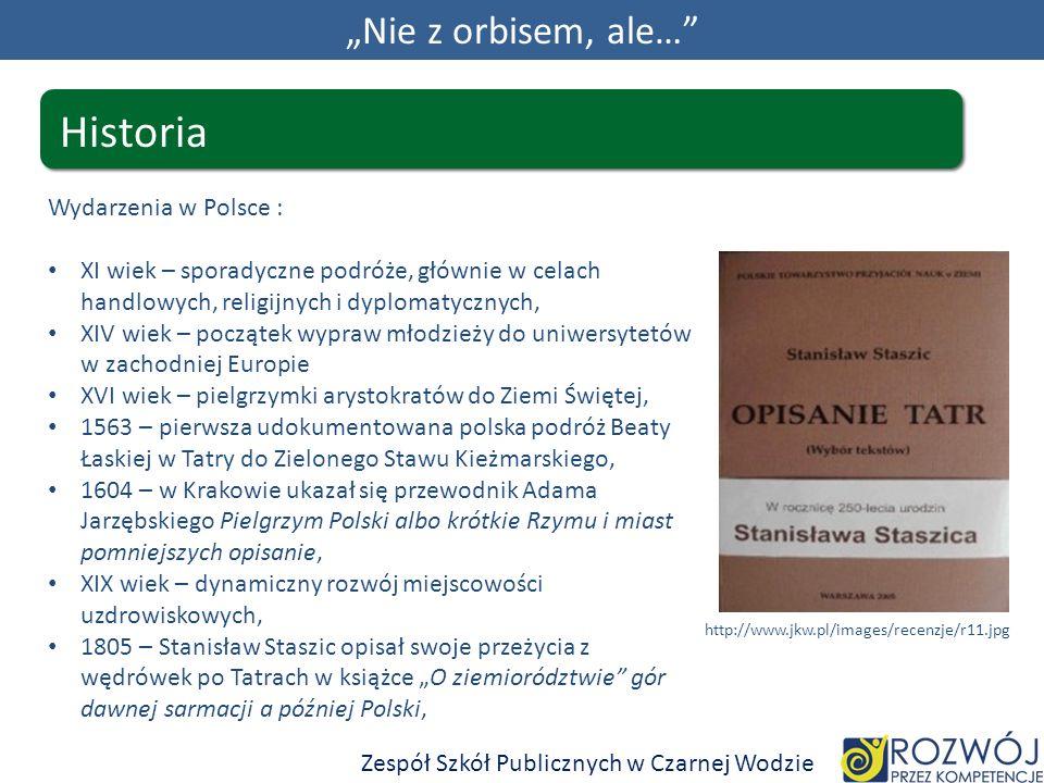 """Historia """"Nie z orbisem, ale… Wydarzenia w Polsce :"""