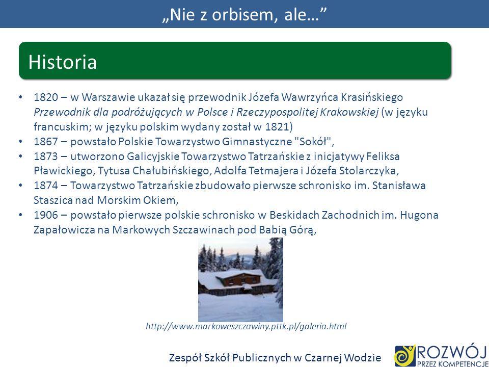 "Historia ""Nie z orbisem, ale…"