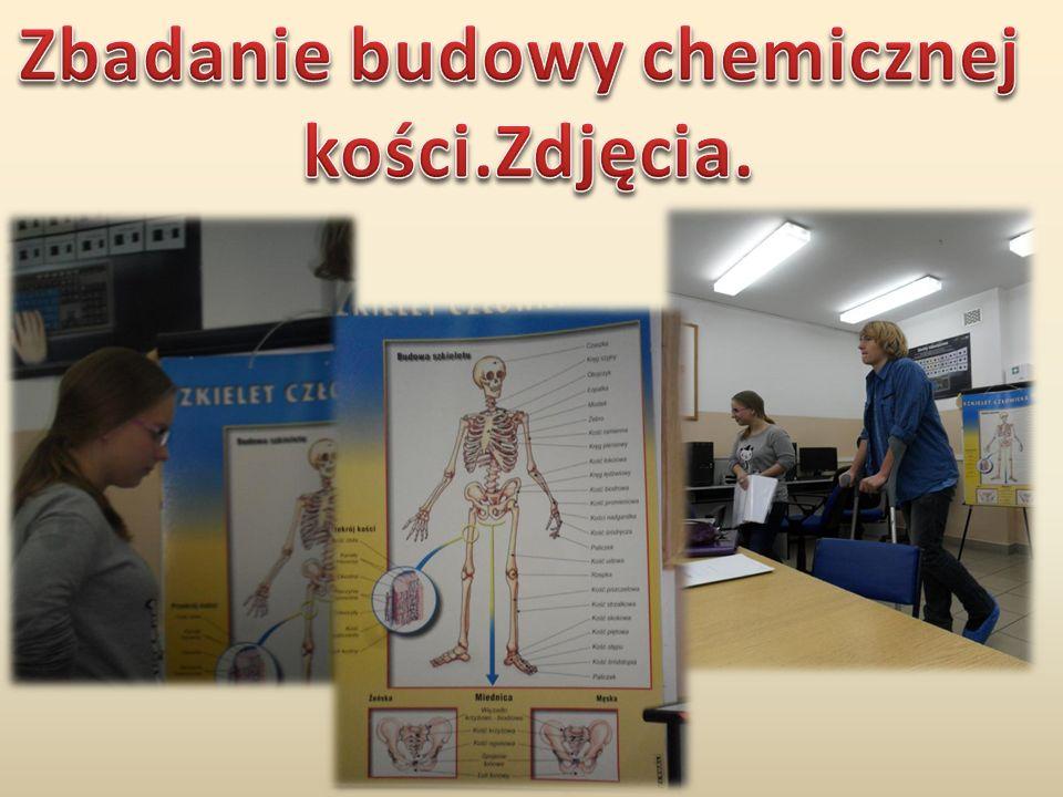 Zbadanie budowy chemicznej