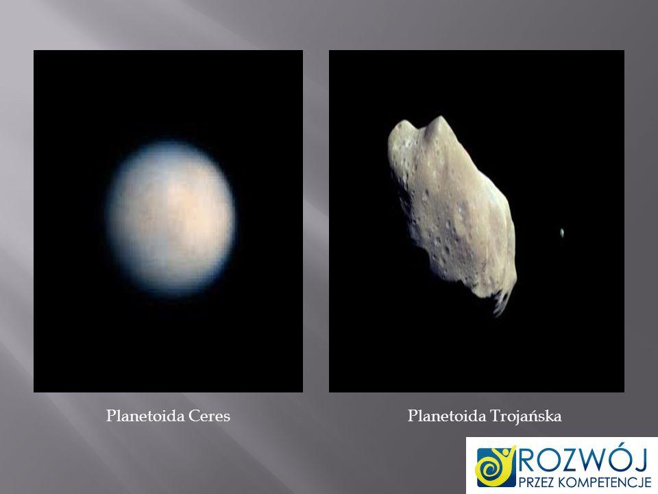 Planetoida Ceres Planetoida Trojańska