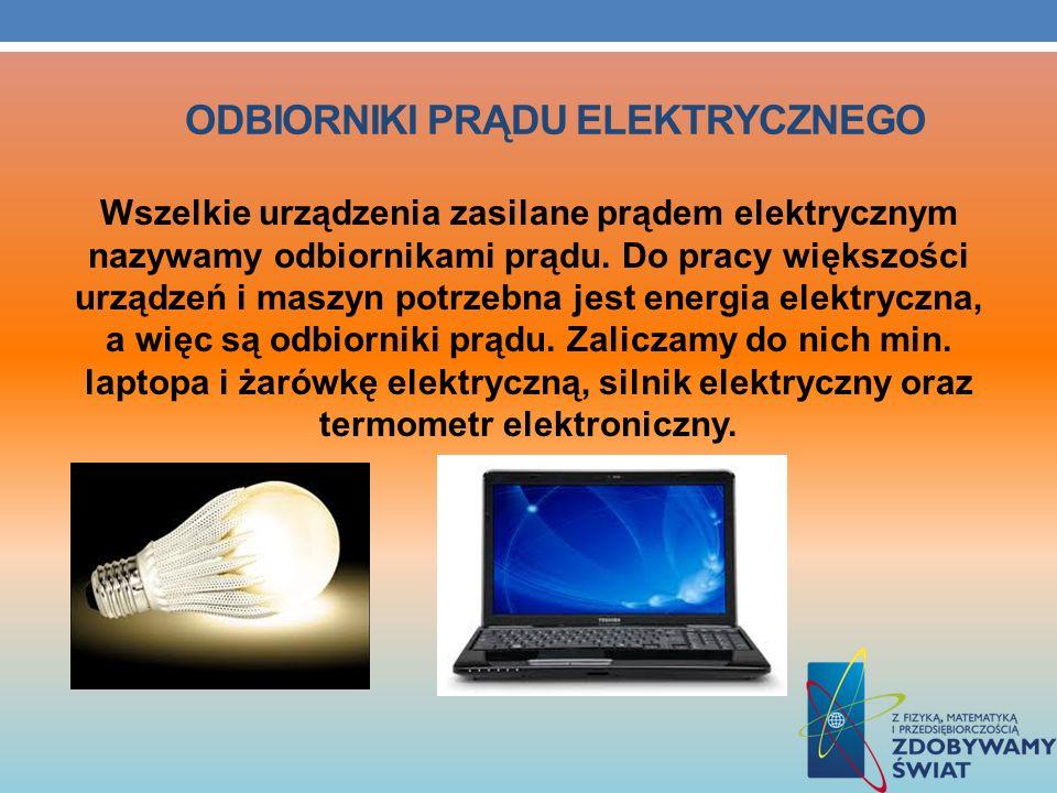 odbiorniki prądu elektrycznego