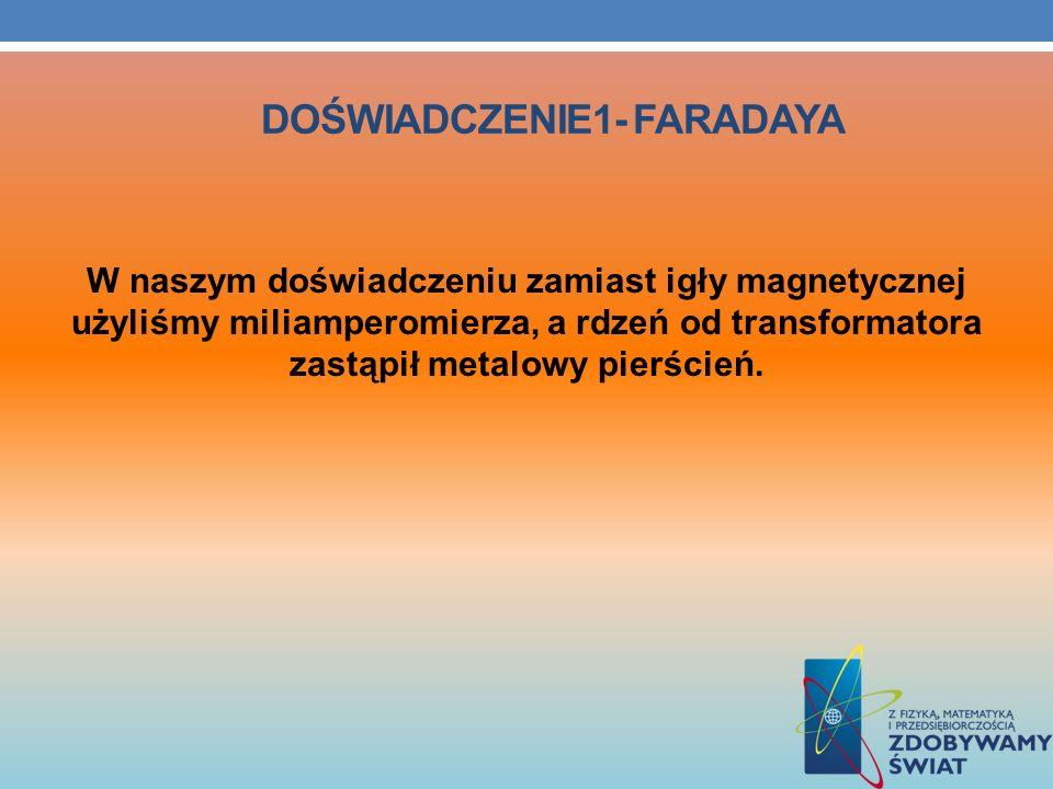 Doświadczenie1- Faradaya