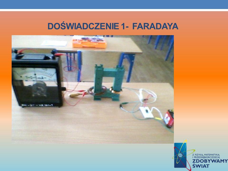 Doświadczenie 1- Faradaya