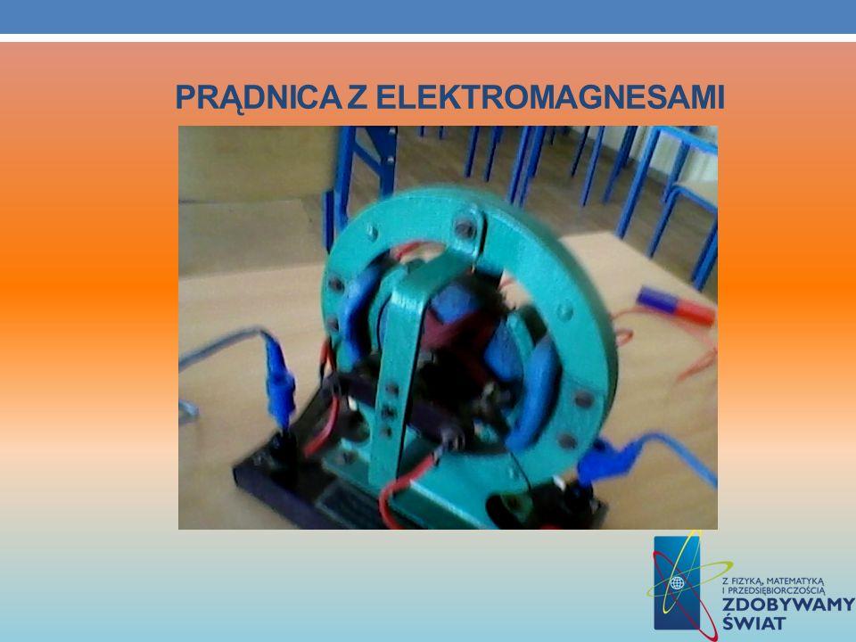 Prądnica z elektromagnesami
