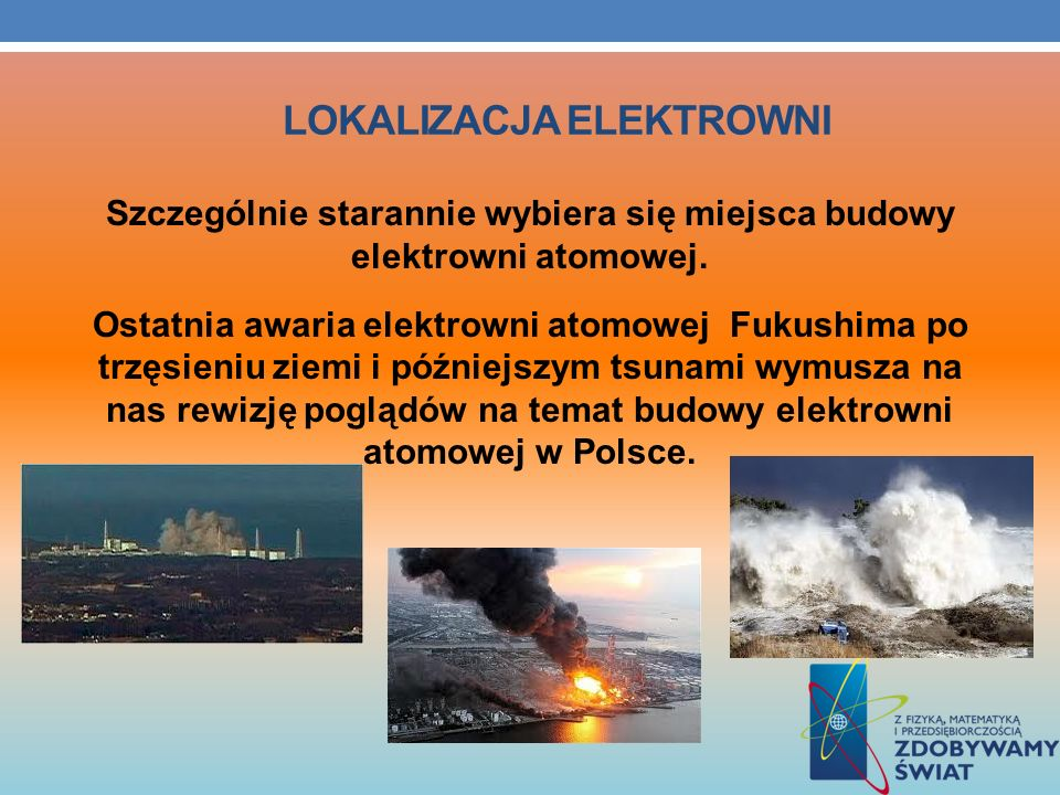 Lokalizacja elektrowni