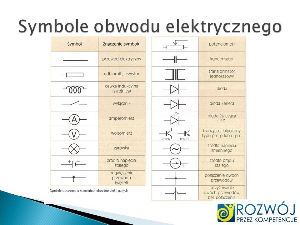 Symbole obwodu elektrycznego